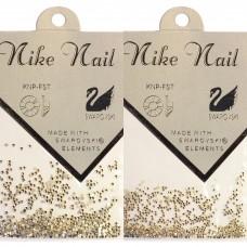 Nike Nail Стразы 720 штук. Серебро