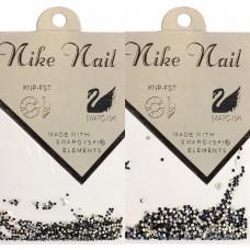 Nike Nail Стразы 720 штук. Темно-синий