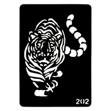 Трафарет для боди-арта 0202