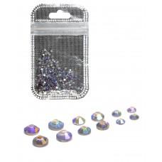 Стразы разноразмерные 008 Фиолетово-синий