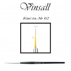 Кисть Vinsall волосок №2