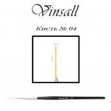 Кисть Vinsall волосок №4