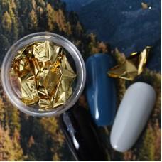 Фольга для дизайна Gold leaf