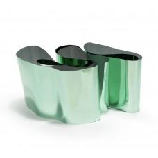 Фольга в баночке зеленый металл №2