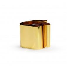 Фольга в баночке золотой металл №2