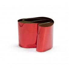 Фольга в баночке красный металл №3