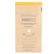 Крафт пакет КЛИНИ-ПАК 115*200