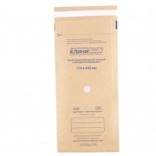 Крафт пакет КЛИНИ-ПАК 115*245