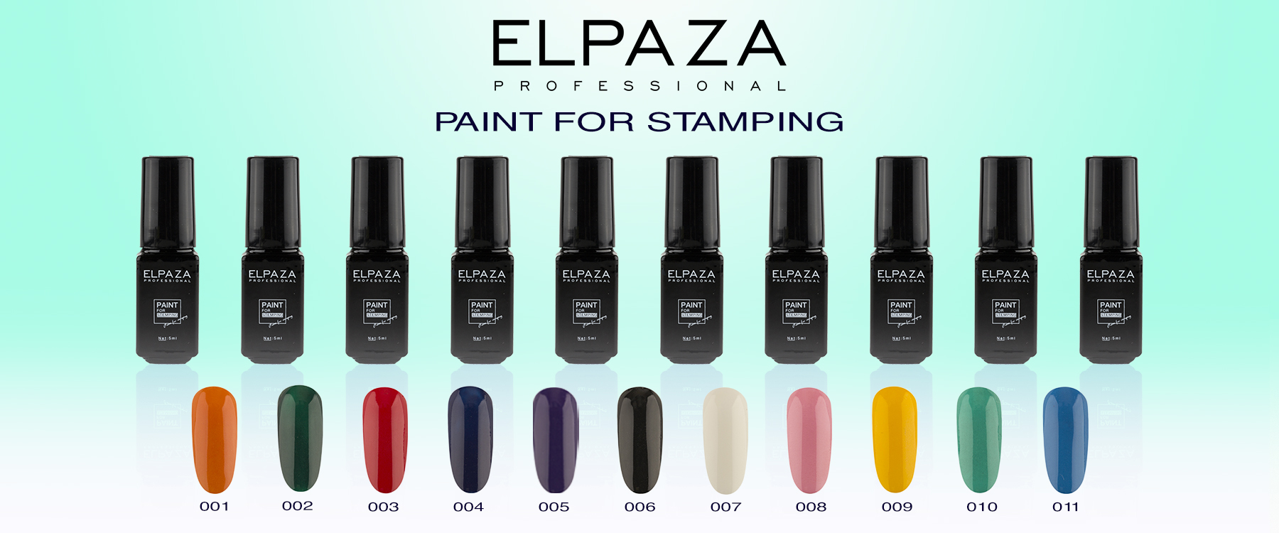 ELPAZA Paint for stamping