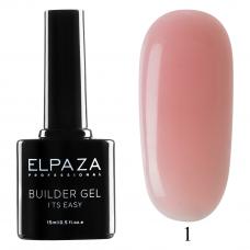 ELPAZA Builder Gel it's easy № 01