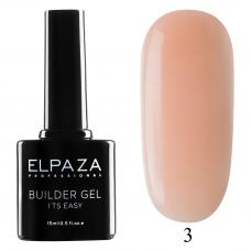 ELPAZA Builder Gel it's easy № 03