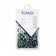 Стразы ELPAZA 1440шт mix размер №12