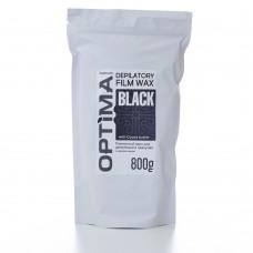 Optima Depilatory film wax Black 800gr