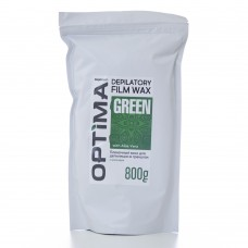 Optima Depilatory film wax Green 800gr