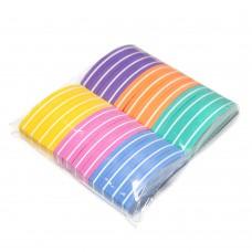 Бафы разноцветные упаковка (24 шт)