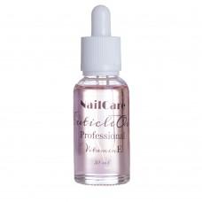 NailCare Масло для кутикулы с витамином Е 30ml pink
