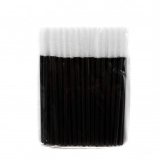 Силиконовые щеточки для ресниц и бровей 50 шт белые